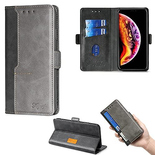 GKZS Flip Hülle Für Elephone S3 Lite Hülle Handyhülle Hülle Cover [schwarz]