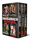 KNUCKLEHEADS: Under Fire! 3-Book Bad-Boy Military MC Romance Trilogy: Too Mean To Die / Queen Bee / High Point (English Edition)
