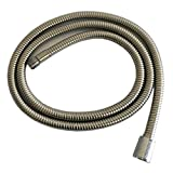 Weirun Kitchen 59-Inch or 150CM Pull Down Sink Faucet Replacement Pull Out Spray Head Hose Stainless Steel, Brushed Nickel