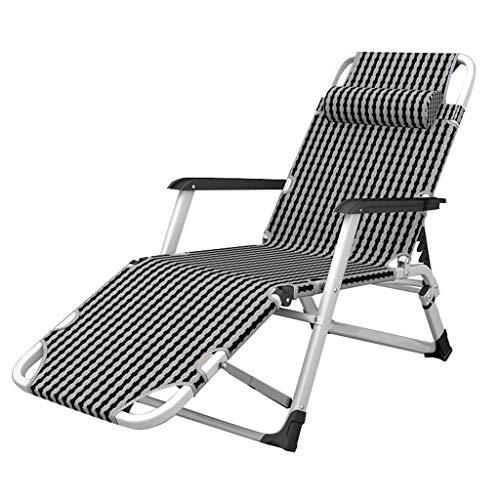 Lounger Tumbonas Extra Anchas Tumbonas tumbonas Relax | Silla de jardín Plegable sillas de relajación para Personas Mayores | Sillón reclinable de Sauna para Adultos, máximo 150 kg