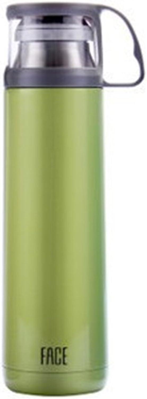Bott Flasche, Flasche, Flasche, Wasserflasche, Saugnapf-tragbarer Außenleck-Beweis mit Schalenabdeckung aus Edelstahl Sportschale mit Grün B07QC9PXYB  Mittlere Kosten 79d542