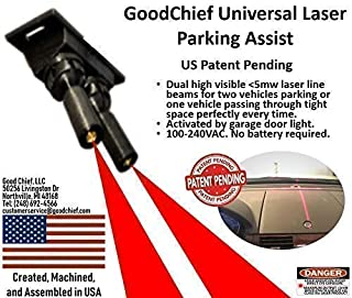 GoodChief Universal Garage Laser Line Parking Assist – an Innovative Way to Easily Park and Guide with Dual Laser Lines Projected on Your Vehicle. Find The Difference on Our Video