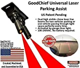 GoodChief Universal Garage Laser Line Parking Assist  an Innovative Way to Easily Park and Guide with Dual Laser Lines Projected on Your Vehicle. Find The Difference on Our Video