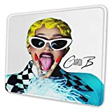 NOT Cardi B Mousepad Non-Slip Rubber Gaming Mouse Pad Rectangle Mouse Pad10 X 12 Inch