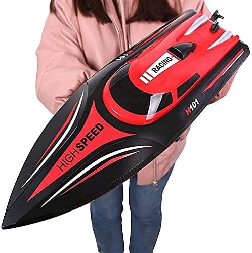 WANIYA1 High Speed Wireless Electrical RC Boat Kids Toy Toy 2.4G Control Remoto Velocidad Speed Boat Water Yacht Modelo RC Motor Boat Barco para Piscinas y Lagos Niños Niños RC Juguete Regalo