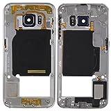 Intercambiable para piezas dañadas IPartsBuy placa trasera de la lente de la cámara Panel de Vivienda con teclas laterales y altavoz timbre zumbador for Samsung Galaxy S6 Edge / G925 accesorios