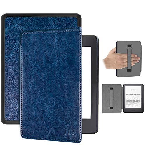 Schutzhülle für Amazon Kindle Paper 4, Leder, magnetisch, mit automatischer...