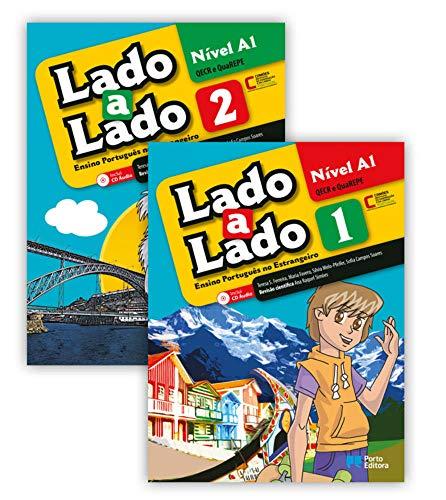 Lado a Lado Nível A1: Volume 1 (Lehr- und Arbeitsbuch + Audio-CD) und Volume 2 (Lehr- und Arbeitsbuch + Audio-CD) (Lado a Lado: Portugiesisch für Jugendliche)