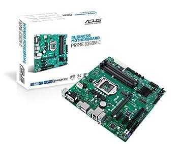 ASUS Prime B360M-C/CSM LGA1151  300 Series  DDR4 DP HDMI VGA M.2 mATX Motherboard  Renewed