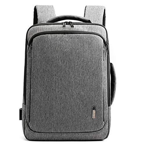 Multifunctionele Reisrugzak Voor Heren 15.6inch Rugzakken Heren Laptop Casual Usb Rugzak (Grijs)