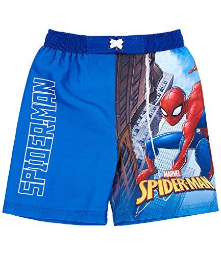 Spiderman Jungen Badehose - blau - 140