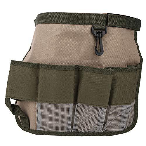 Werkzeuggürtel, Gürteltasche mit Mehreren Taschen, multifunktionale Gartentasche für den Garten, robust und langlebig für die Autoreparatur