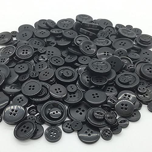 50 gramos de tamaño mixto forma muchos botones de colores para manualidades de álbum de recortes DIY hecho a mano bebé niños ropa accesorios de costura WD0021-8,10-30mm