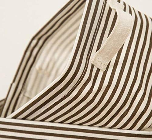 TKG Cotton Bagagli Ufficio Cestino di Mele Box di stoccaggio Biancheria Intima Cosmetici Trucco Supporto da tavolino del Contenitore della Cassa Organizer,H850-3