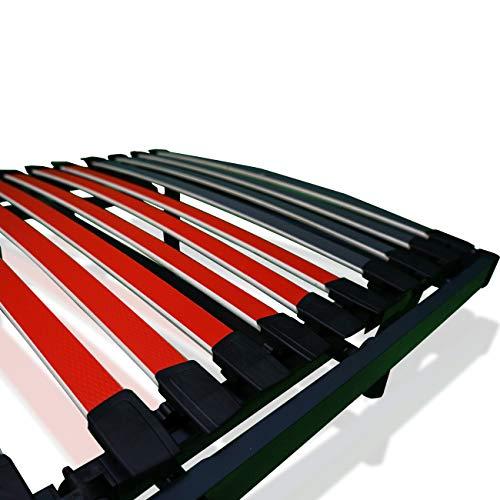 519Y+1OD8cL - Duérmete Online Ergo Luxe Cama Eléctrica Articulada Reforzada 5 Planos con Suspensiones de Caucho, Haya, Gris, 90 x 190