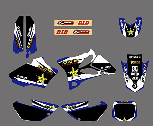 0040 Customized Motorcross Graphic Motorcycle Decals Stickers Kit Graphics for Yamaha YZ85 2002 2003 2004 2005 2006 2007 2008 2009 2010 2011 2012