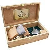 LAGUIOLE - Set Ostriche - 4 Accessori - Coltello per ostriche, Spremiagrumi, Blocco per os...