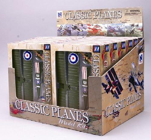 entrega rápida Classic Classic Classic triplano Kits de biplano panTalla del contador (12en total) (plástico)  autentico en linea