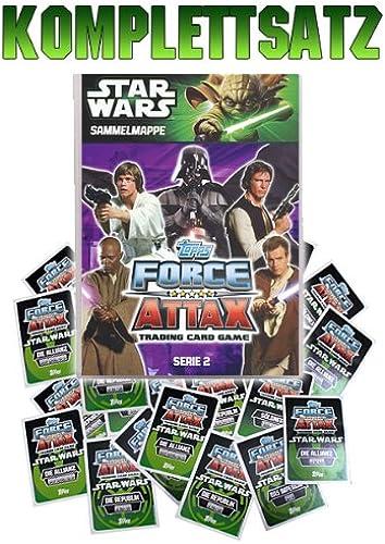 Force Attax Movie Cards Serie 2 - Komplettsatz plus Sammelmappe