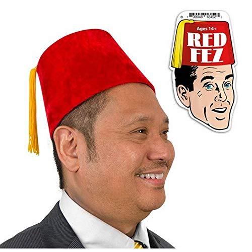 Red Fez Hat