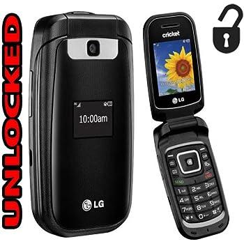 LG Flip Phone 3G True B460 GSM Unlocked Bluetooth Camera (Cricket) World Phone (NOT CDMA Carriers Like Verizon Sprint Boost Mobile Virgin)