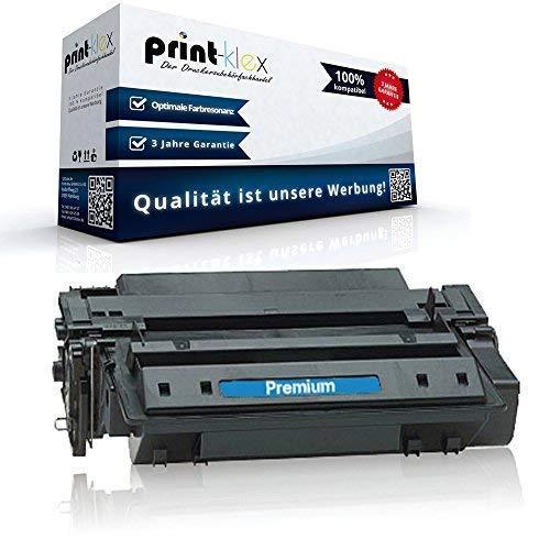 Print-Klex XXL Toner für HP LaserJet M3027MFP M3027XMFP M3035MFP M3035XSMFP P3003dn P3003x P3004 P3004d P3004n P3005 P3005D P3005DN P3005N P3005X Q7551X HP 51A HP 51X HP51A HP51X Black 15000 Seiten XL
