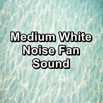 Medium White Noise Fan Sound