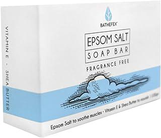 Bathefex Epsom Salt Fragrance Free Soap Bar