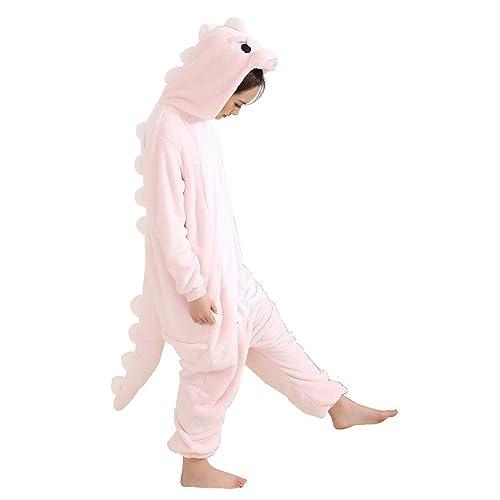 Afoxsos Adult Animal Pajamas Costume - Plush One Piece Cosplay Dinosaur  Onesies Costume 05060b1dec67d