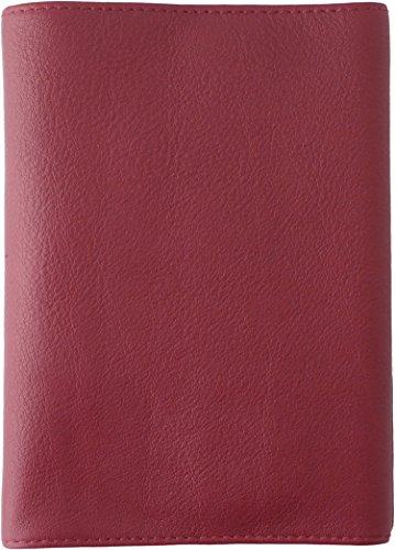 スリップオン フリータイプ文庫判ブックカバー OSL 革 ワイン OSL-3201