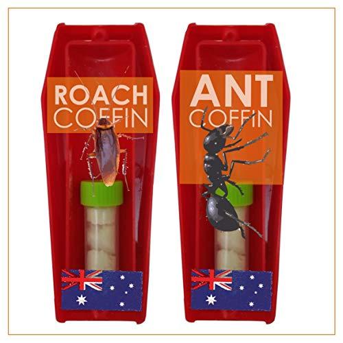 Decke Australia Ant Killer & Cockroach Killer Double Pack - Ant Baiting & Cockroach Baiting