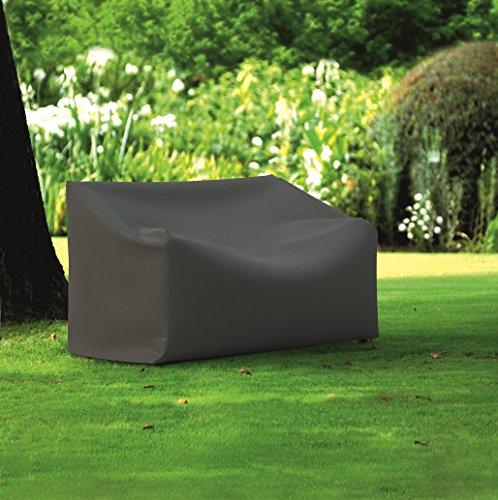d-c-fix 2460112 80 x 120 cm Jardin Premium Housse pour Banc de 2 Places – Gris