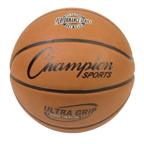 Buy Bargain Champion Sports Composite Game Basketballs, Intermediate (Size 6 - 28.5)