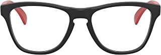 Oakley Kids' Oy8009f Frogskins Xs Asian Fit Round Prescription Eyewear Frames