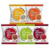 プロテイン+ビタミン ボール 5種パック 45g×5袋 バレンタイン Protein + Vitamin Balls 5 kinds pack プロテインボール ビタミンB12 ビタミンC ビタミンD3 エナジーボール プロテイン お菓子 タンパク質 おやつ