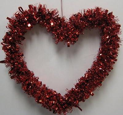 """Valentine's Red Heart Garland 12"""""""