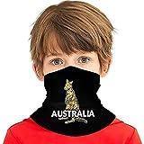 Wthesunshin Enfants Cache Cou Kan-garoo Australien Tubulaire Séchage Rapide Cou Chaud épais Protecteur Bandeau Poussière Protection UV