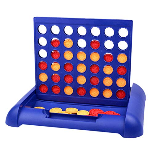 TOYANDONA Connect Game Board 3d Brain Educational Toy for Baby Kid Child (Blue)