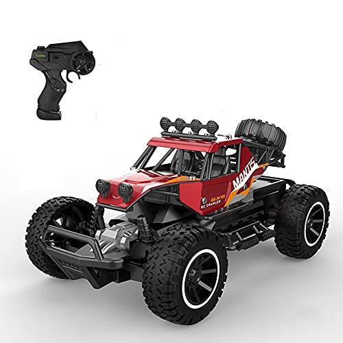 NAMFZX Vehículo todoterreno de aleación 2WD 1:20 Coche de carreras eléctrico Vehículo de escalada todoterreno 2,4 GHz Coche de control remoto de rally competitivo de alta velocidad Coche de juguete RC