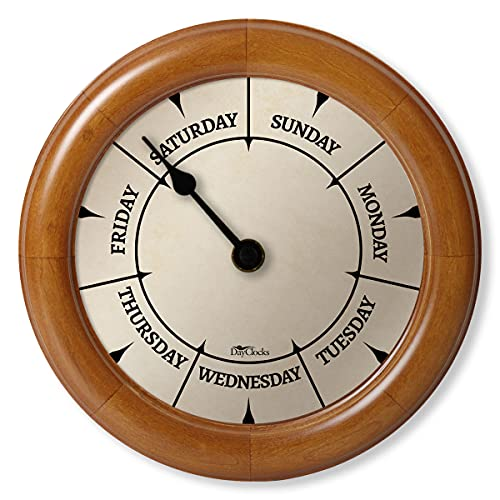 DayClocks Classic Day Clock – Day of The Week Clock - Fun...