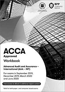 ACCA Advanced Audit and Assurance (International): Workbook