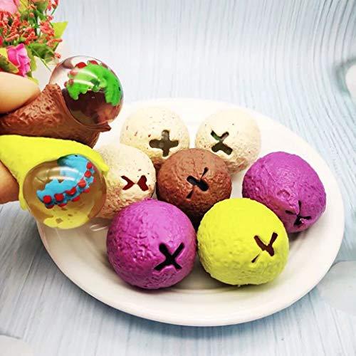Bola de ventilación, Bolas de UVA Pinkes Beads, Bola de UVA, Bolas de Malla de Juguete de ventilación complicadas, Fidget Squishy Fidget Ball para ansiedad Autismo,Gh5