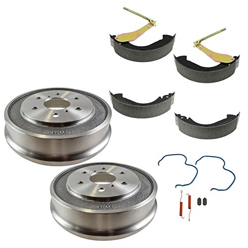 Rear Brake Drum Shoe Hardware Set Kit for Chevy Silverado GMC Sierra 1500