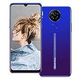 Blackview A80 4G Móviles 2020, Android 10 Smartphone Libres Face ID, 6,21 HD Display, 2GB +16GB, 4200mAh Batería Telefono Dual SIM, Móvil Libre 13MP + 8MP (EU Versión) Azul