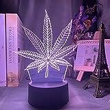 DGUOHAC Lámpara de Mesa de alimentación de batería de Hierba Nocturna Sensor táctil de Cambio de Color, lámpara de decoración del hogar, lámpara de Noche para Dormitorio Infantil