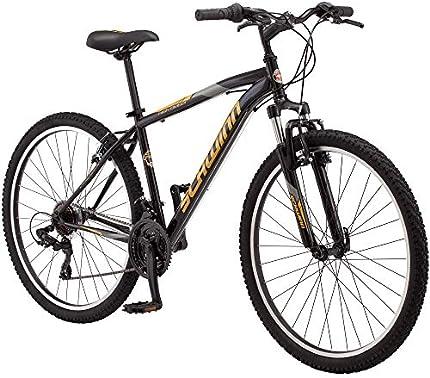 Schwinn - Bicicleta de montaña para hombre High Timber de rodado 27,5. Cuadro mediano de 18 pulgadas