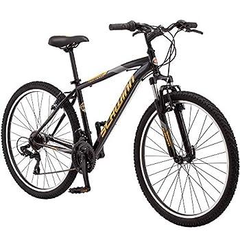 Schwinn High Timber Youth/Adult Mountain Bike Steel Frame 27.5-Inch Wheels 21-Speed Black