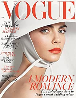 Vogue UK Magazine (June 2018) Cara Delevingne Cover