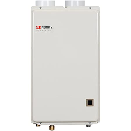 Noritz NRC66DVNG Indoor Condensing Direct Tankless Hot Water Heater, 6.6 GPM - Natural Gas
