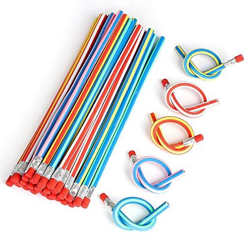 XIAOYAO 40 Piezas Lápices Flexible,Lapiz Mágicos para Niños